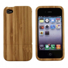 4ME Bambusový kryt pro iPhone 4/4S